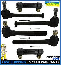 6Pc Tie Rod Inner Outer Sleeves Kit for 1988-99 Chevrolet GMC K1500 K2500 K3500