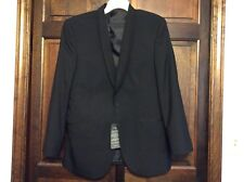 Black Jean Yves 40R One Button Tuxedo/Suit Jacket Wedding Prom Formal Cruise