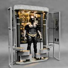 Toys Legend DX12 Dark Knight Batman Bat Armory LED Light Diorama Set 1/6