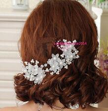 Hochzeit Braut Haarschmuck Haarnadeln Blume Perle