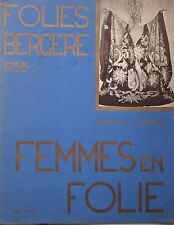 REVUE FOLIES BERGERE 1935