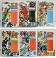 DC Comics Lot (6) Who's Who Issues #1 5 6 7 8 13 (1985, 1986) VF to NM