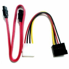 4pin IDE to SATA Power cable with SATA data cable - UK seller