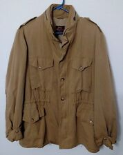 Willis & Geiger Ranger / Safari Men's Hooded Khaki Jacket. Size - 40. Free Ship!