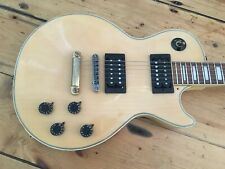 Aria Pro II Les Paul Custom Guitar Matsomoku Japan Circa 1980