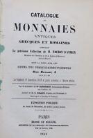 catalogue des monnaies 1858