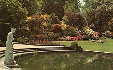 Postcard Kent Japanese azaleas i8n the cascade rockery Haver Castle unposted