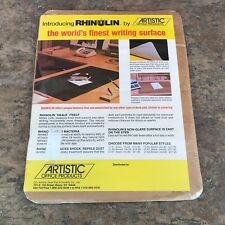 Vintage Rhinolin Small Writing Surface by Artistic Office Products 11.5x9 Inches