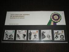 1996 GB Timbres WOMEN OF ACHIEVEMENT PACK présentation - Excellent état MNH #269