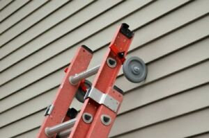 EASY UP, ladder stabilizer,Extension Ladder Helper, painting, power washing,