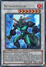 Nitrokrieger TDGS-DE039 Ultra Rare 1. Auflage Yu-Gi-Oh! Synchro Karte DEUTSCH NM