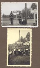 2x Foto- Wehrmacht -Frankreich- signe de la Ville-Paris- -1940