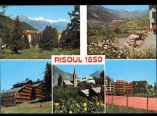 RISOUL (05) HOTELS , TERRAIN de TENNIS , VILLAS & EGLISE vers 1970