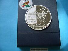 1.3 Oz German Anniversary 999 Silver Coin Round Rare Cool Piece!