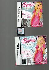 Rare !!! BARBIE STYLISTE :Défilé De Mode !!Comme neuf : DS/DSi/3DS