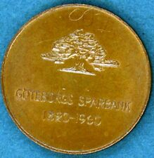 Commemorative Medal - Sweden - Goteborg Sparbank