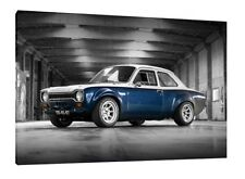 MK1 Ford Escort 30x20 Inch Canvas - Framed Picture Print Artwork