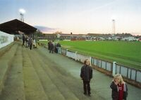 Non-League Football Ground Postcard, Claremont Road, Hendon FC , North London