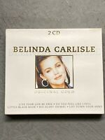 Belinda Carlisle Original Gold CD Set HOLLAND IMPORT RARE OOP Go-Go's Real Live