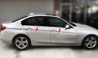 EDELSTAHL FENSTERLEISTEN CHROM für BMW 3ER F30   BJ ab 2011-   4TLG SET POLIERT