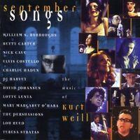 Kurt Weill September songs (v.a., 1997) [CD]