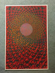 Original East Totem West Poster The Inner Eye Satty Psychedelic 60's