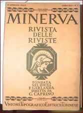 MINERVA RIVISTA DELLE RIVISTE ANNATA COMPLETA 1932