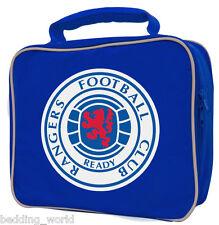 LUNCH BAG RANGERS CREST FOOTBALL CLUB KITCHEN SCHOOL SANDWICH BOX BLUE RED