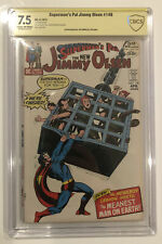 Superman's Pal Jimmy Olsen #148 CBCS 7.5 signed by JOE SIMON - not CGC not SS