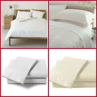 DUVET 600 TC 100% EGYPTIAN COTTON QUILT COVER BEDDING SET WITH 2 PILLOWCASES