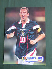 Gary McAllister-Escocia - 1 páginas de fotos de acción de disparo recorte/Corte