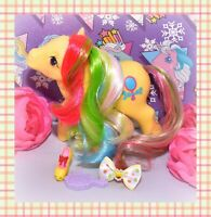 ❤️My Little Pony MLP G1 Vtg Brush 'n Grow Pretty Vision Mirror Long Hair❤️