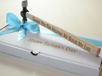 Any Word Personalised Hammer Engraved fathers day Gift Father Dad Uncle Husband