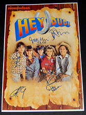 HEY DUDE CAST SIGNED 12x18 POSTER NICKELODEON CHRISTINE TAYLOR x7 VERY RARE! 1