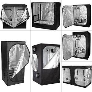 Senua Hydroponics Grow Tent Kit Indoor Portable Bud Dark Room 600d Mylar