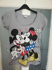 Vintage Disney Mini And Micky Mouse T-shirt Women's Size Small