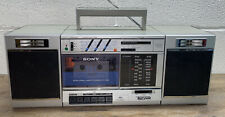 Vintage Sony CFS-3000 Transound FM/AM Cassette Recorder BOOMBOX Tested / Working