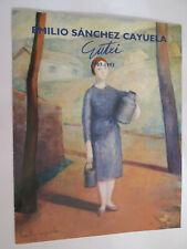 CATALOGO EXPOSICION - SANCHEZ CAYUELA - DIPTICO - PAMPLONA