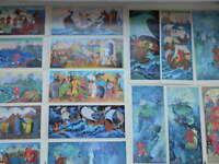 Sadko, Russian fairy tales, Set of postcards, 1981 Artist Fokeev V., USSR,