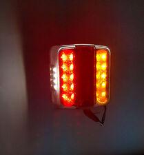 1 x 12V LED FEU ARRIERE POUR CAMION REMORQUE FOURGON CARAVANE CAMPER