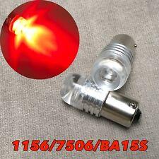 1156 7506 180° BA15S P21W Rear Signal Red 5W Cree LED bulb W1 For Audi VW E