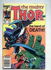 Thor #343-1984 vg+ Walt Simonson