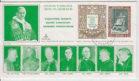 """Vatikan - """"Geheimes Konsistorium"""" 2 Briefe aus 1967 - bitte ansehen !!"""