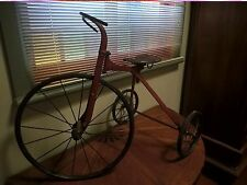Antique vintage 1930's children's tricycle unrestored ideal movie prop