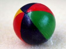 Beach Ball, Dolls House Miniatures, Seaside accessory. 1.12 Scale
