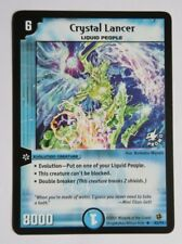 DUEL MASTERS Kellogs Promo Card Crystal Lancer K2/Y1 Excellent Rare