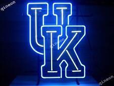 NCAA UK University Kentucky Wildcats REAL NEON SIGN BEER BAR LIGHT Fast Shipping