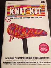 Knit Kit Bike Seat Cover