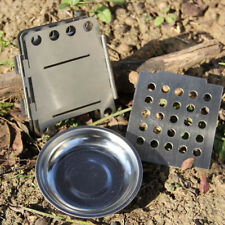 Camping Outdoor Portable Cook Stove Backpacking Survival Wood Burning Stove Set