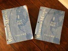 2010 Ford Lincoln Mks 2 Volume Service Shop Repair Manual Set
